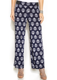 INC International Concepts Printed Pull-On Soft Pants