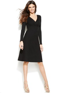 INC International Concepts Ribbed Sweater Dress