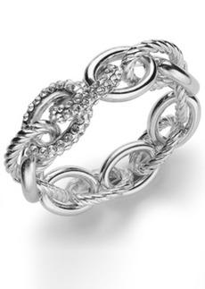 Inc International Concepts Rose Pave Link Stretch Bracelet