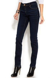 INC International Concepts Petite Skinny Jeans, Dark Wash