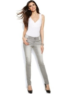 INC International Concepts Skinny Jeans, Shadow Grey Wash