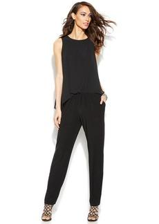 INC International Concepts Sleeveless Slim-Leg Jumpsuit