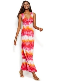 INC International Concepts Sleeveless Tie-Dye Maxi Dress