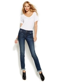 INC International Concepts Straight-Leg Jeans, Stormy Wash
