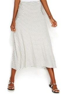 INC International Concepts Striped Maxi Skirt