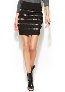 INC International Concepts Studded Mini Skirt