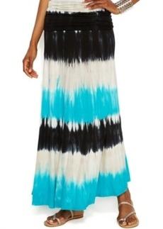INC International Concepts Tie-Dye Convertible Maxi Skirt