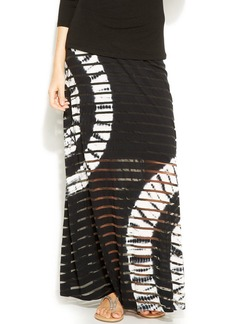 INC International Concepts Tie-Dye Illusion Maxi Skirt