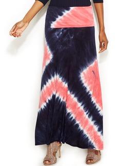 INC International Concepts Tie-Dye Maxi Skirt