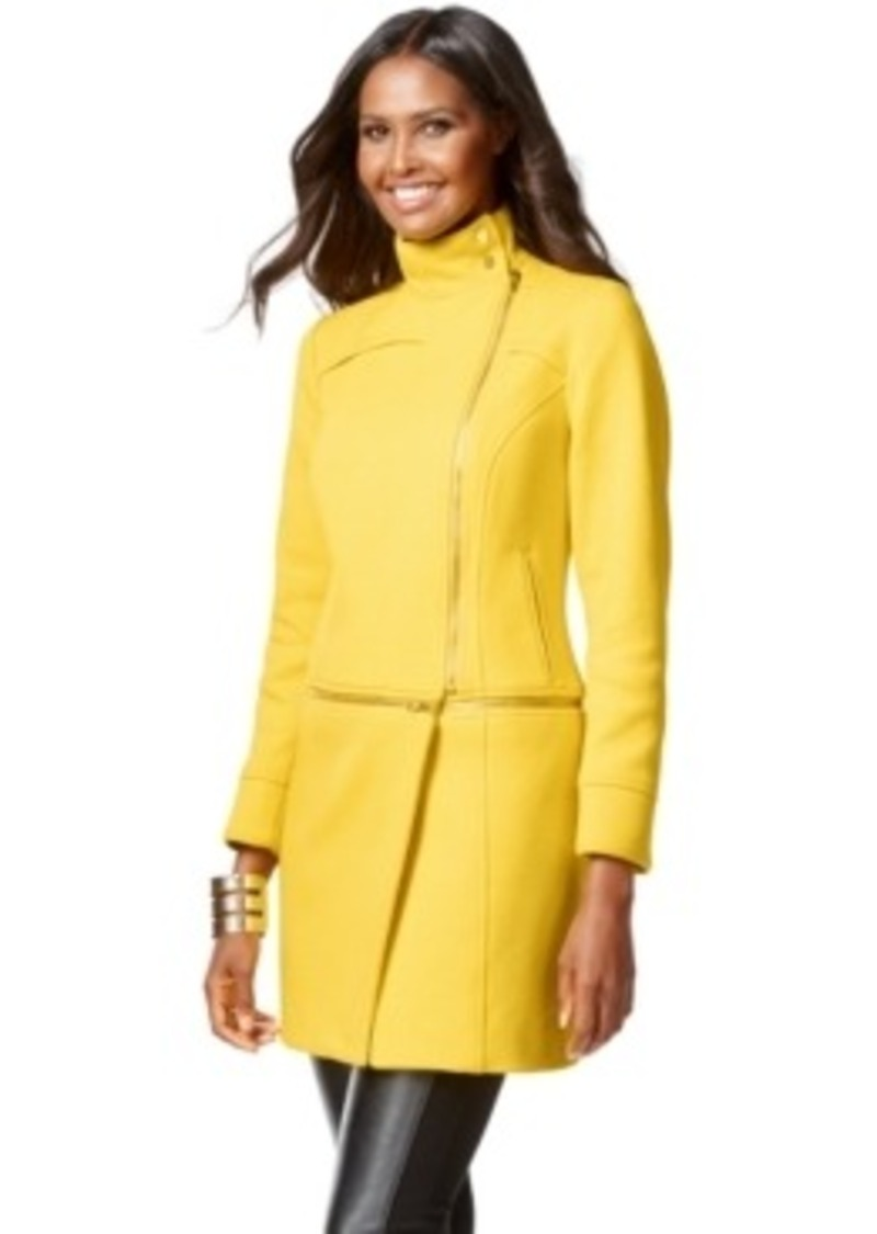 INC International Concepts Inc International Concepts Two-Way Long Or Cropped Coat Only At Macy ...