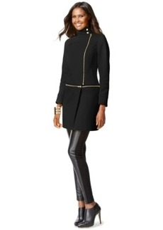 Inc International Concepts Two-Way Long or Cropped Coat, Only at Macy's