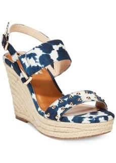 Inc International Concepts Women's Alffie2 Platform Wedge Sandals Women's Shoes
