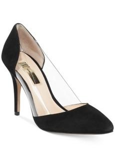 INC International Concepts Women's Bretty Two-Piece Pumps Women's Shoes