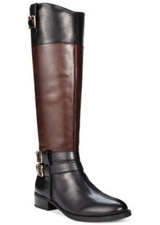 INC International Concepts Women's Fahnee Wide Calf Riding Boots Women's Shoes