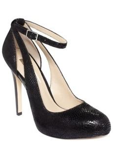 Inc International Concepts Women's Lucey Leather Platform Pumps Women's Shoes