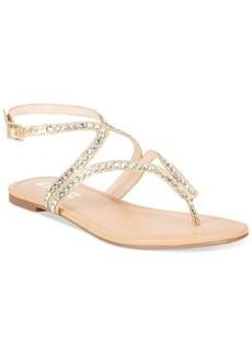 INC International Concepts Women's Maryna Flat Thong Sandals Women's Shoes