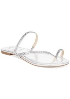 Inc International Concepts Women's Mistye Rhinestone Flat Sandals Women's Shoes