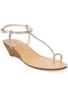 INC International Concepts Women's Mystik Wedge Sandals Women's Shoes