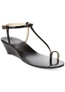 INC International Concepts Women's Mystik2 Wedge Sandals Women's Shoes