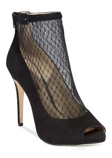 INC International Concepts Women's Sicili Mesh Evening Booties