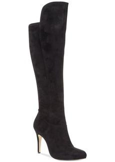 INC International Concepts Women's Tacy Knee High Stretch-Back Dress Boots