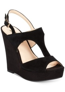INC International Concepts Women's Vangee Platform Wedge Sandals Women's Shoes