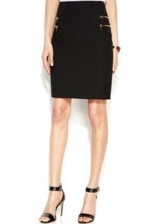 INC International Concepts Zip-Pocket Pencil Skirt