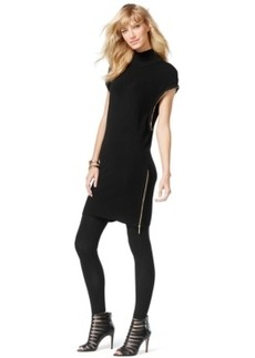 Inc International Concepts Zip-Trim Tunic Sweater, Only at Macy's