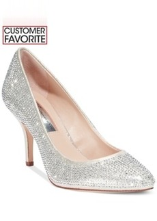 Inc International Concepts Zitah Pointed Toe Rhinestone Evening Pumps Women's Shoes