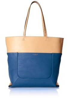 Isaac Mizrahi Lillian Leather Tote Shoulder Bag