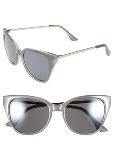 Isaac Mizrahi New York 51mm Retro Sunglasses