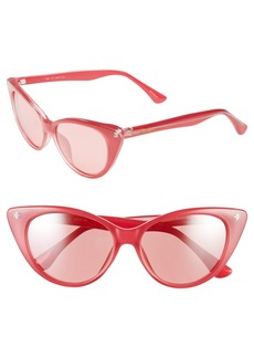 Isaac Mizrahi New York 52mm Cat Eye Sunglasses
