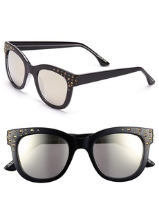 Isaac Mizrahi New York 52mm Retro Sunglasses