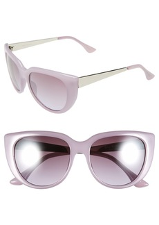 Isaac Mizrahi New York 53mm Retro Sunglasses