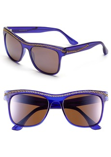 Isaac Mizrahi New York 55mm Retro Sunglasses