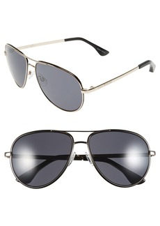 Isaac Mizrahi New York 59mm Aviator Sunglasses