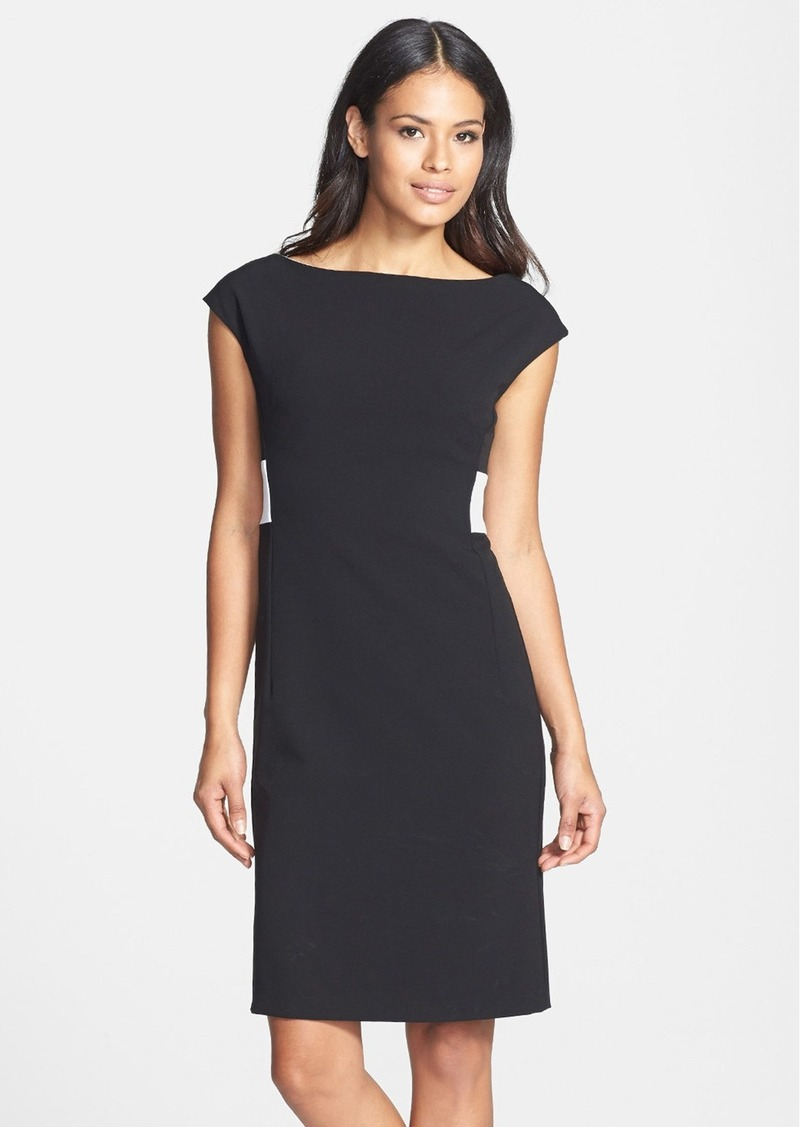 Isaac Mizrahi New York Back Pleated Shift Dress