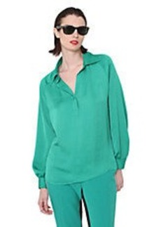 ISAAC MIZRAHI NEW YORK Long-Sleeve Blouse