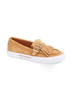 Isaac Mizrahi New York 'Monroe' Kiltie Slip-On Sneaker (Women)