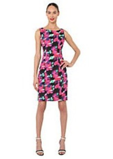 ISAAC MIZRAHI NEW YORK Multi Colored Printed Dress