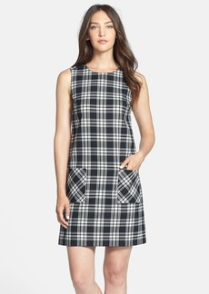 Isaac Mizrahi New York Plaid Twill A-Line Dress