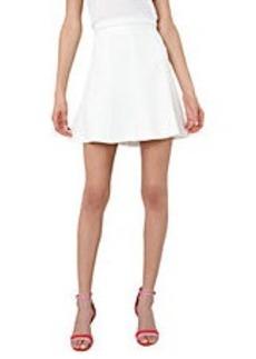 ISAAC MIZRAHI NEW YORK Pleated A-Line Skirt