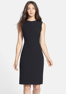 Isaac Mizrahi New York Seamed Stretch Sheath Dress