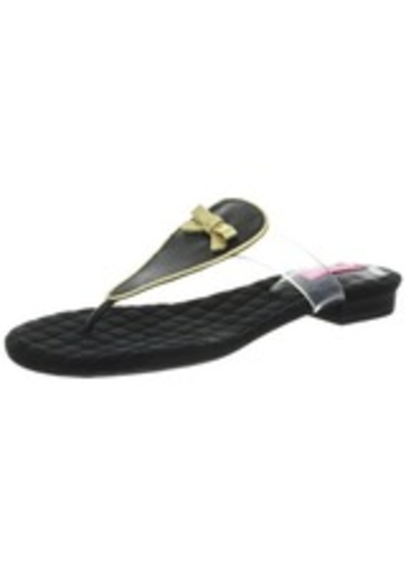 Isaac Mizrahi New York Women's Callie Thong Sandal