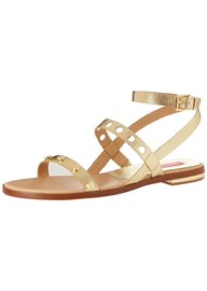 Isaac Mizrahi New York Women's Stroll Flat Sandal