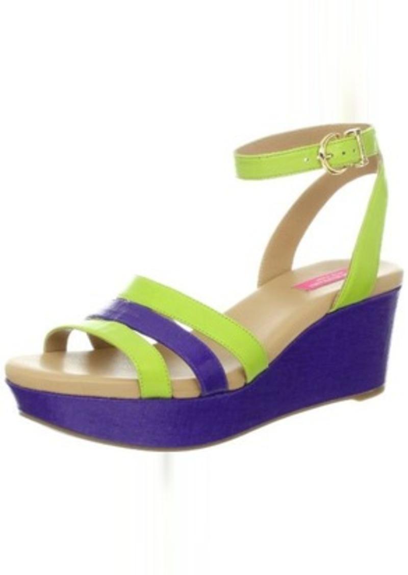 Isaac Mizrahi New York Women's Treva Platform Sandal