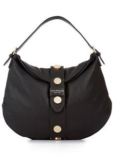 Isaac Mizrahi Pebbled Leather Olivia Hobo