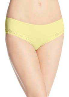 Isaac Mizrahi Women's Invisible Hiphugger with Lace Panty