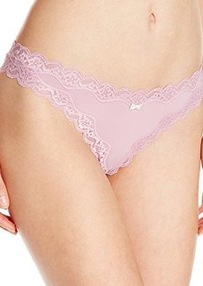 Isaac Mizrahi Womens The One Thong Panty