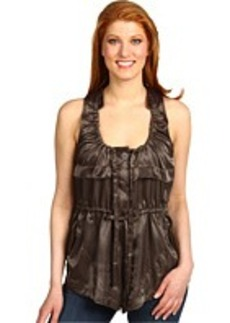 ISDA & CO Crinkle Shine S/L Top